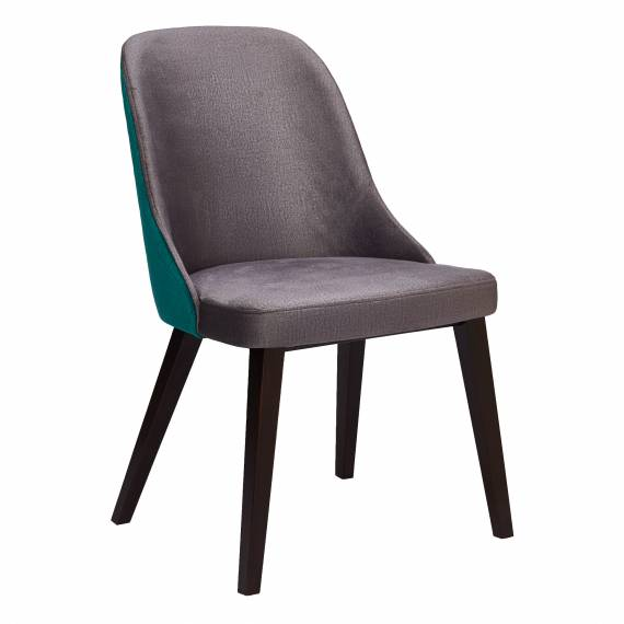 Fully Upholstered Alyssa SQ Restaurant Dining Chair with Square legs