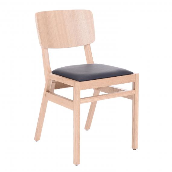Solid Wood Stackable Pearl Dining Restaurant chair