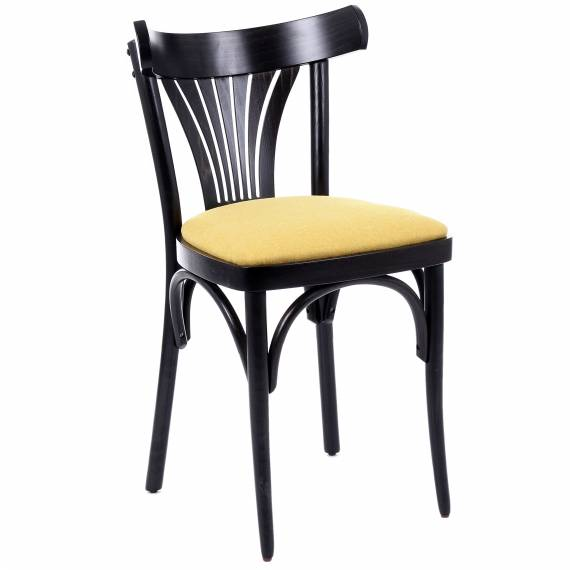 Modern Bentwood  BISTRO P Restaurant Dining Chair with upholstered seat