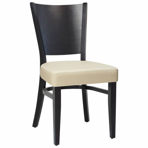 Upholstered Seat Rounded Back DAKOTA SP Commercial chair