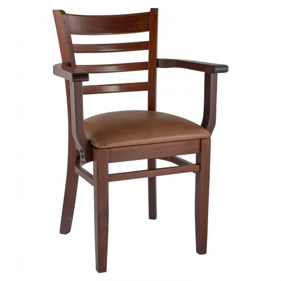 Traditional Upholstered Seat LADDERBACK ALP RESTAURANT CHAIR
