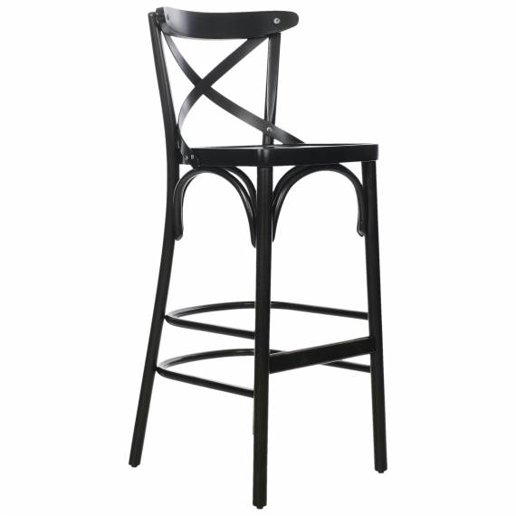 Bentwood Elegant CROSSBACK B Commercial Bar Stool