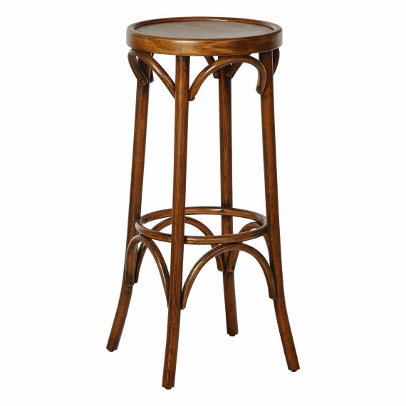 Bentwood Antique Bistro Style PALM Commercial Backless Bar stool