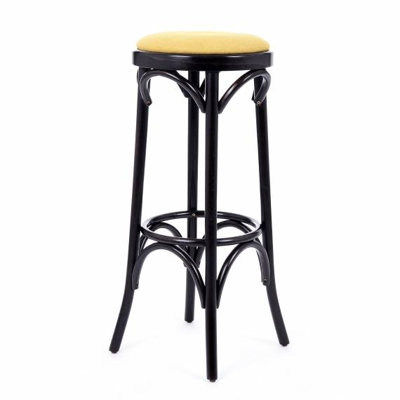 Bentwood Upholstered Backless PALM P Commercial Bar stool