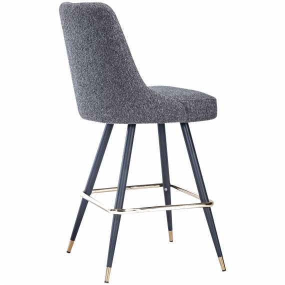 Fully Upholstered Tufted Back JMB-001B Restaurant Bar Stool