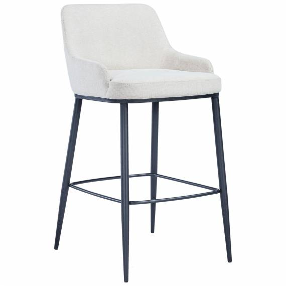 Fully Upholstered Metal Frame JMB-002B Metal Restaurant Bar Stool
