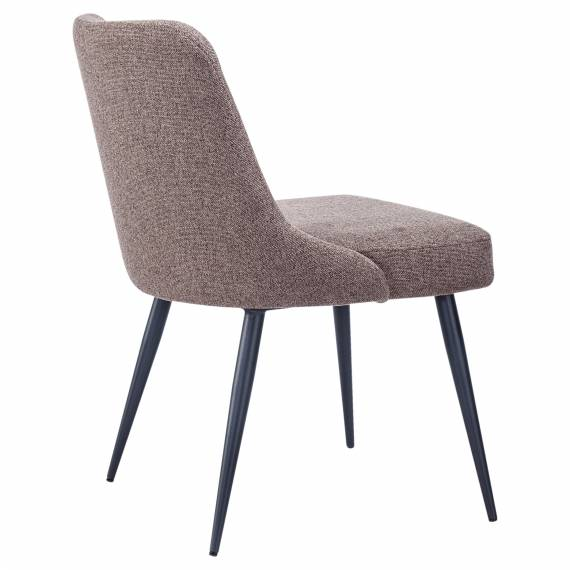 Tufted Back JMB-001C Restaurant Metal Chair