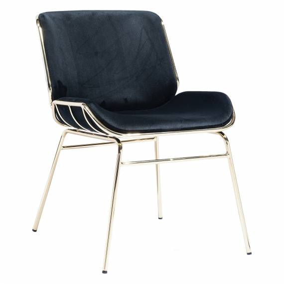 Upholstered Metal Frame JMB-008C Restaurant Chair