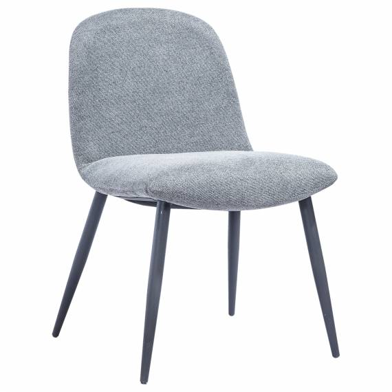 Fully Upholstered JMB-009C Metal Restaurant Chair