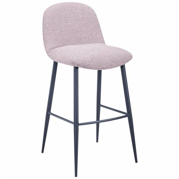 Fully Upholstered JMB-009B Metal Restaurant Bar Stool