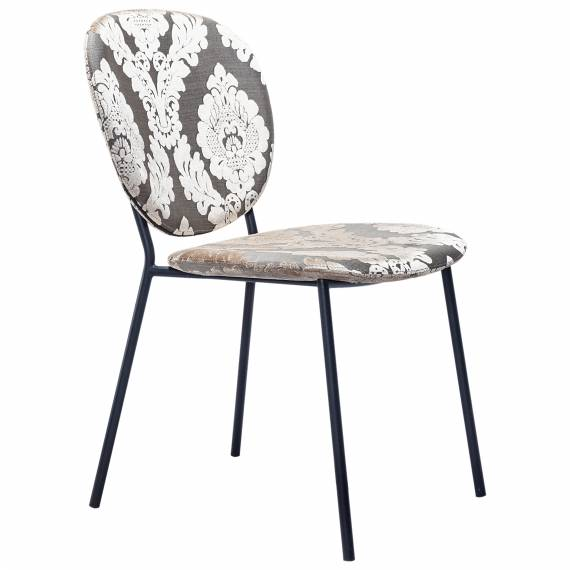 Upholstered JMB-012C Restaurant Metal chair