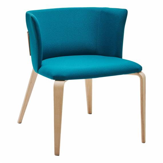 Contemporary Fully Upholstered LEAN Commercial Chair