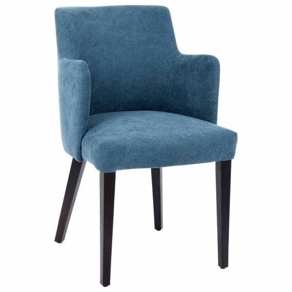 MODERN FULLY UPHOLSTERED MOSCOW ARM RESTAURANT CHAIR