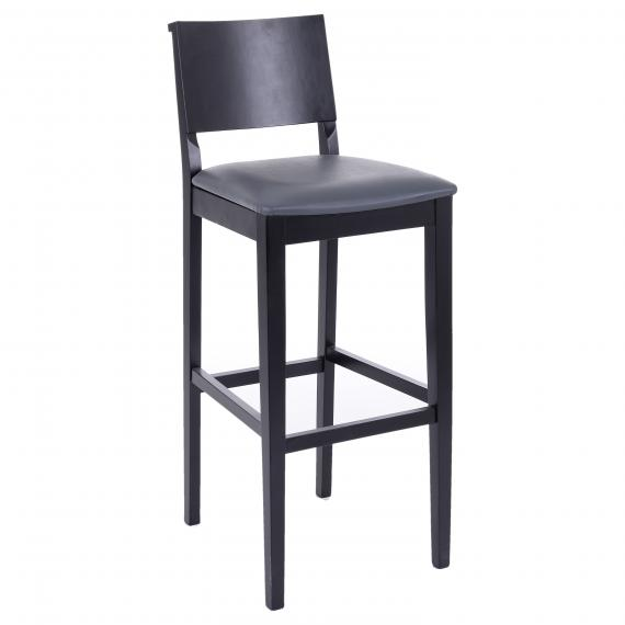 Commercial Upholstered Seat  BASEL BP Restaurant Bar Stool