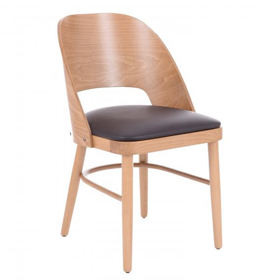 SOLID WOOD UPHOLSTERED DEBRA US RESTAURANT CHAIR