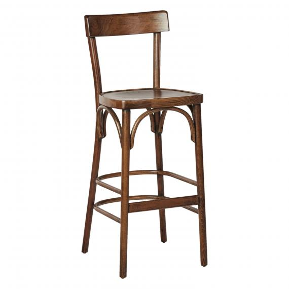 CLASSIC BENTWOOD OPEN-BACK DINING MOZART RESTAURANT Bar Stool