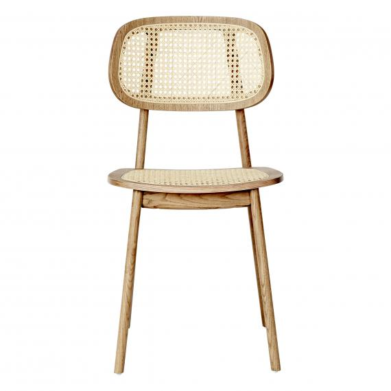 Cane Seat & Back Brazil Restaurant Dining Chair