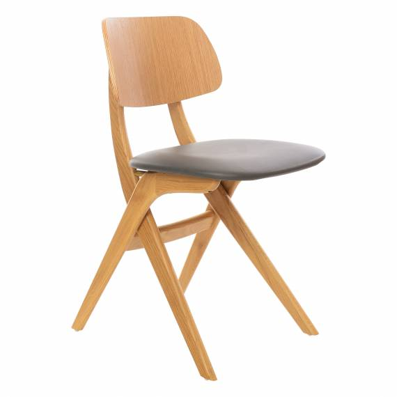 Contemporary Design Upholstered Seat Bernard PS Restaurant chair