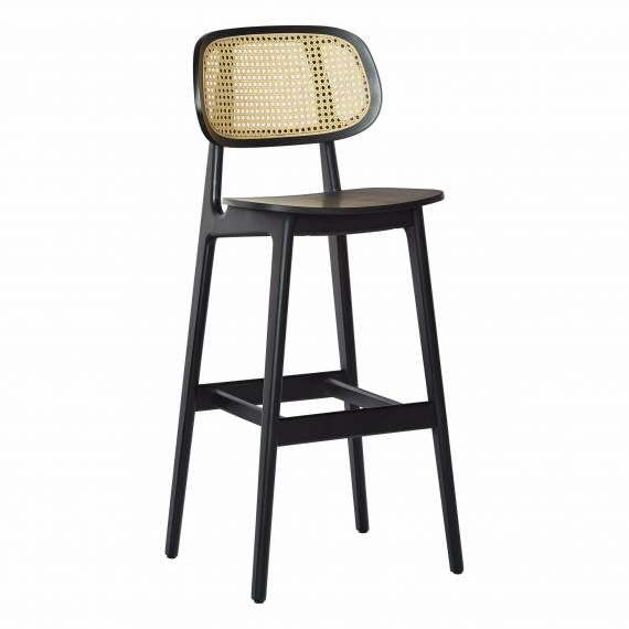 Cane Back Brazil B Restaurant Bar Stool