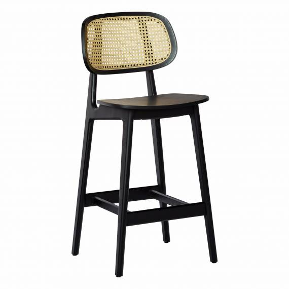 Cane Back Brazil B Bar Stool 24 Inches