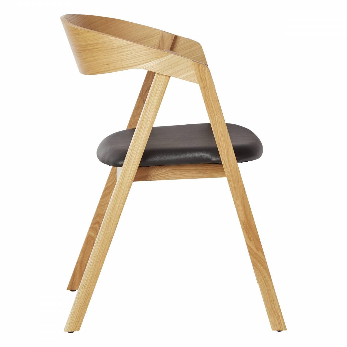 Indoor Furniture Scandinavian Design Georgia Ps Restaurant Chair With Upholstered Seat
