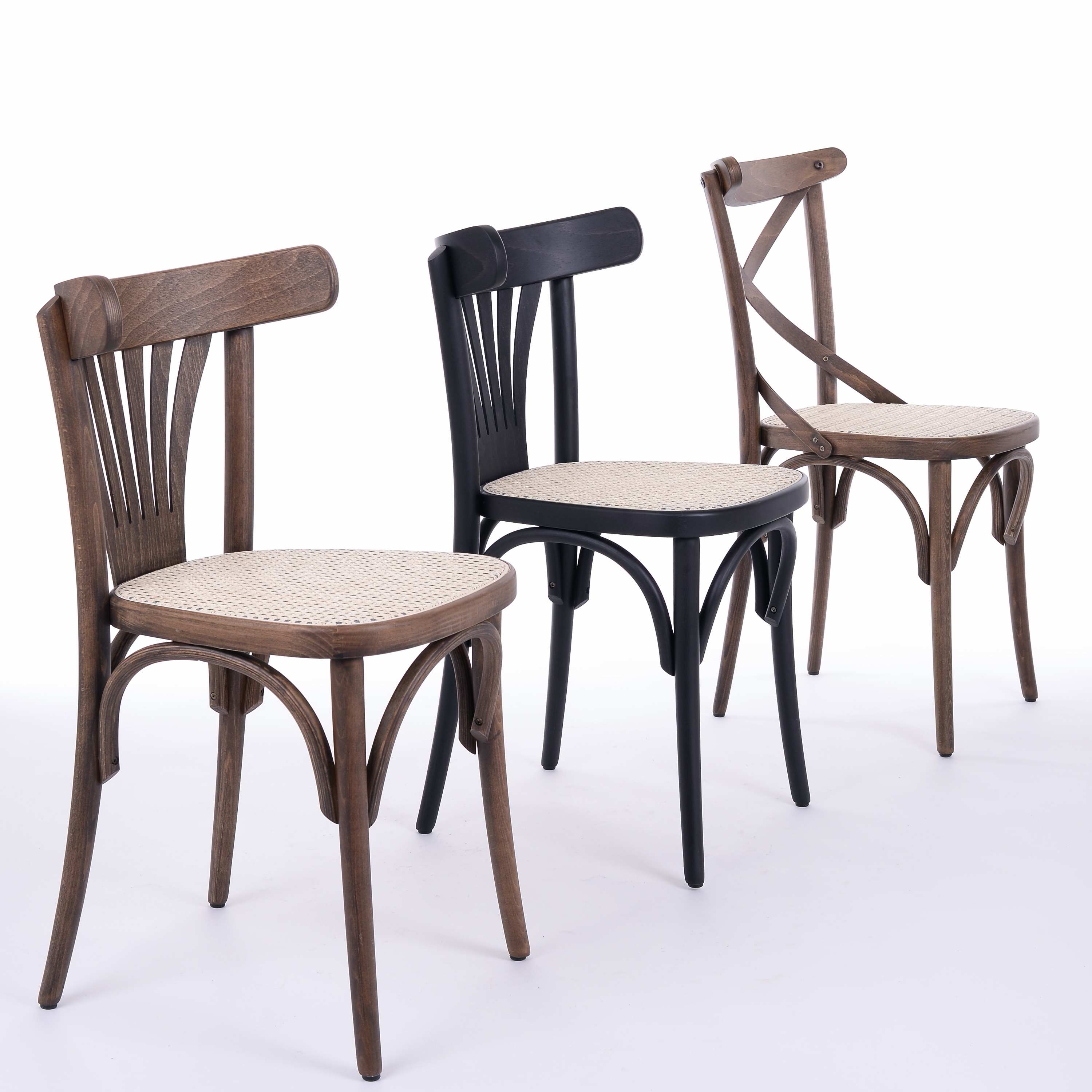 Bentwood Cane Restaurant Chairs